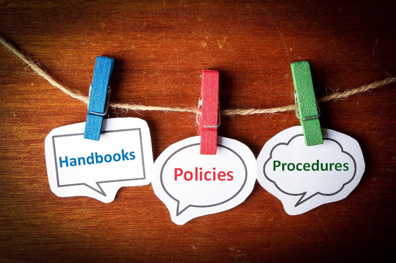 Handbooks, Policies and Procedures